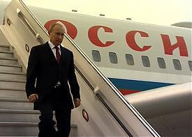 владимир путин трап самолет визит|Фото: