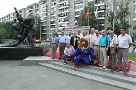 Тигренок Жорик талисман чемпионата Европы по дзюдо в Челябинске|Фото:gubernator74.ru