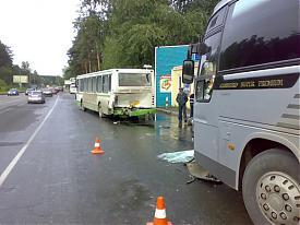 дтп автобус пассажир гибдд лиаз киа|Фото:УГИБДД Свердловской области