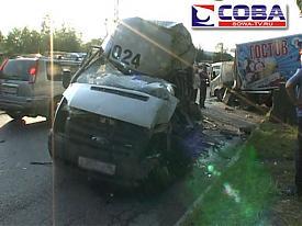 дтп, маршрутка, грузовик|Фото: sowa-tv.ru
