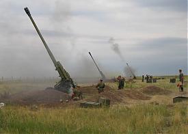 учения артиллерия армия военные|Фото: пресс-служба ЦВО
