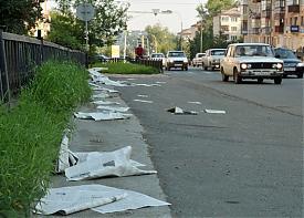 разбросанные листовки нижний тагил|Фото: движение чистый город