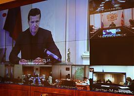 сметанюк сергей видеоконференция|Фото: uralfo.ru