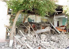 обрушение здания пожарной части коркино|Фото: администрация коркино