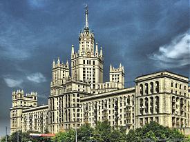 сталинские высотки в москве|Фото:minsd.livejournal.com
