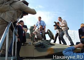 выставка вооружений нижний тагил 2011 танк сиенко|Фото: Накануне.RU