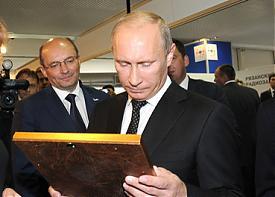 выставка вооружений нижний тагил 2011 путин мишарин икона|Фото: amisharin.ru