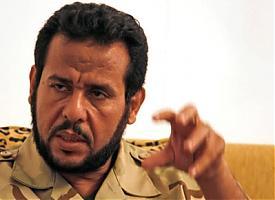 Абдель Хаким Бельхадж военный комендант Триполи Фото:voltairenet.org