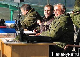 медведев дмитрий анатольевич президент рф стратегическое учение центр-2011 Фото: Накануне.ru