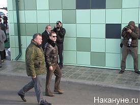 "учения ""Центр 2011"" Дмитрий Медведев и Анатолий Сердюков Фото:Накануне.RU"