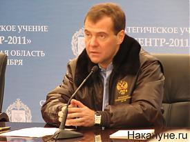 """учения """"Центр 2011"""" Дмитрий Медведев Фото:Накануне.RU"""