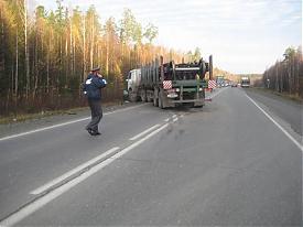 грузовик дтп|Фото:пресс-служба угибдд по свердловской области
