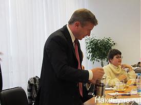 Михаил Максимов встреча с журналистами|Фото:Накануне.RU
