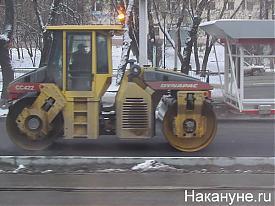 дорожные работы асфальт снег|Фото:Накануне.RU