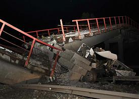 обрушение моста|Фото: pervo.ru