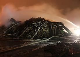 пожар архангельск порт Фото: 29.mchs.gov.ru