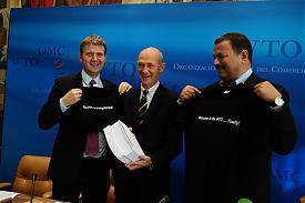 Максим Медведков Паскаль Лами всемирная торговая организация ВТО|Фото:WTO/Studio Casagrande