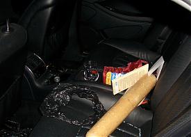 наркотик, амфетамин, машина, салон, бита|Фото: фскн свердловской области