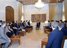 делегация РФ в Сирии, встреча с Башаром Асадом |Фото: Александр Ивачев