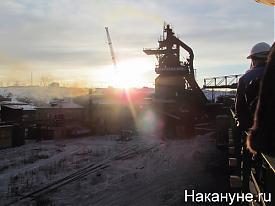 губернатор Свердловской области Александр Мишарин Алапаевский металлургический завод АМЗ Фото:Накануне.RU