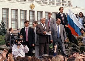 путч август 1991  ельцин|Фото: