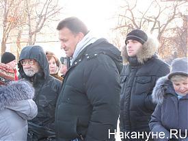 пикет  несогласные  с выборами площадь обороны  Фото:nakanune.ru