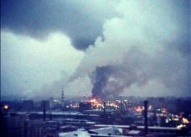 пожар, таганский ряд|Фото: twitter.com/#!/Kiselas