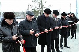 Михаил Юревич открывает мост Фото:gubernator74.ru