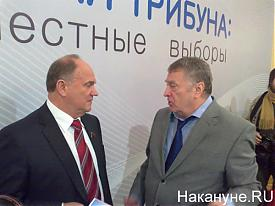 жириновский, зюганов Фото:Накануне.RU