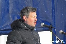 Андрей ветлужских председатель федерации профсоюзов свердловской области митинг 28 января|Фото: Накануне.RU