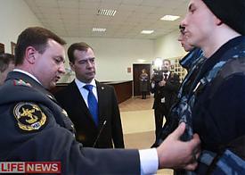 полиция форма медведев |Фото: lifenews.ru
