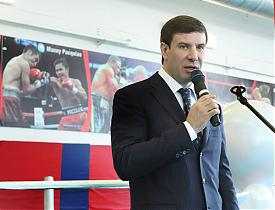 школа бокса Михаил Юревич|Фото:gubernator74.ru