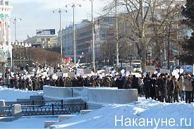 шествие екатеринбург плотинка 04.02.2012 Фото: Накануне.RU