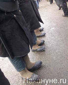валенки, полиция, митинг на болотной, 4.02.2012|Фото: Накануне.RU