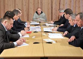 путин совещание коркинский район |Фото: правительство рф