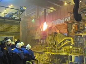 Северский трубный завод, СТЗ, электросталеплавильный цех, плавка металла|Фото: Накануне.RU