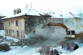 снос домов в поселке Роза|Фото:gubernator74.ru
