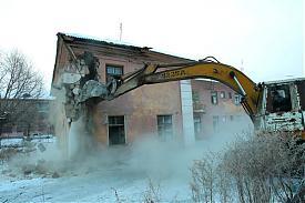 снос домов в поселке Роза Фото:gubernator74.ru