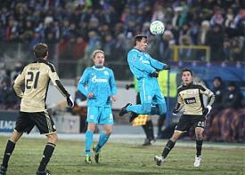 Зенит Бенфика футбол Фото:media-beta.fc-zenit.ru