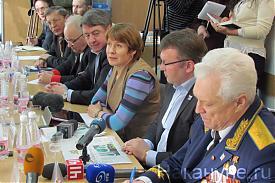 Юрий Судаков Сергей Никонов Елена Чечунова|Фото: Накануне.RU
