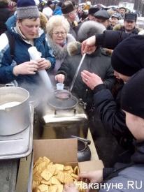 полевая кухня, каша, митинг лужники|Фото: Накануне.RU