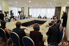 визит Сергея Миронова в Екатеринбург|Фото: Накануне.RU