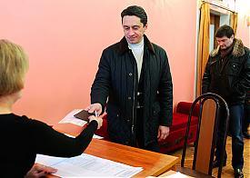 Олег Сиенко голосование |Фото: УВЗ