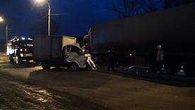 Грузовики столкнулись на Среднем Урале|Фото: пресс-служба УГИБДД Свердловской области
