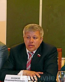 председатель Курганской облдумы Владимир Казаков Фото: Накануне.RU