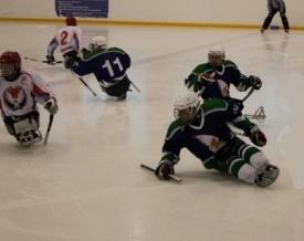следж хоккей|Фото: центр спорта инвалидов югры