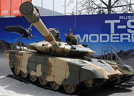 модернизированный танк Т-90С|Фото: ЦАМТО