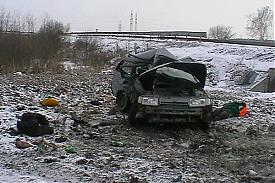 ВАЗ-2111 ДТП обочина|Фото: пресс-служба ГИБДД Екатеринбурга