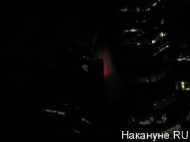 """пожар в """"Москва-Сити"""" Фото:Накануне.RU"""