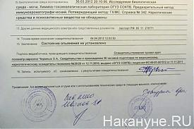 Георгий Перский тест на нарокотики|Фото: Накануне.RU
